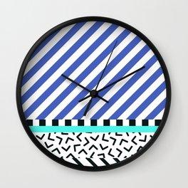 Memphis pattern 83 Wall Clock