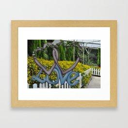 Love in Malaysia Framed Art Print