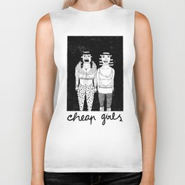 CHEAP GIRLS Biker Tank