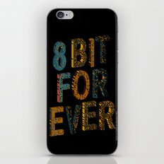 8 bit for ever iPhone & iPod Skin