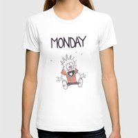 hobbes T-shirts featuring Monday by Jozi