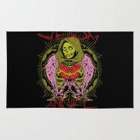 venom Area & Throw Rugs featuring Venom angel by Tshirt-Factory