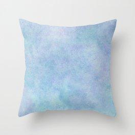Pretty blues Throw Pillow