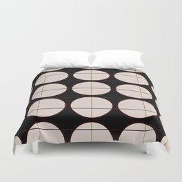 circle - grid Duvet Cover