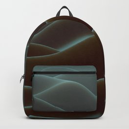 Brown mountains of wax Backpack
