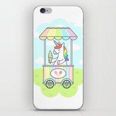 Unicorn Ice Cream iPhone & iPod Skin