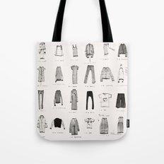MY WARDROBE Tote Bag