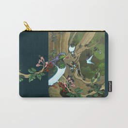 Pigeons, Parakeets and Fantails Carry-All Pouch