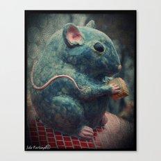 Tiny creature Canvas Print