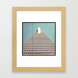 just a power cable Framed Art Print