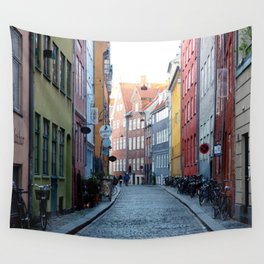 Colors of Copenhagen Wall Tapestry