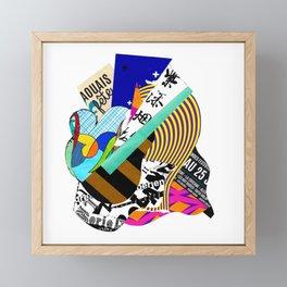 Guitar Lesson Framed Mini Art Print