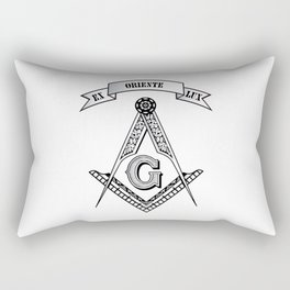 Freemasonry symbol Rectangular Pillow