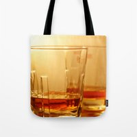 whiskey Tote Bags featuring Whiskey by Vishal Wadhwani