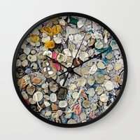 bubblegum Wall Clocks featuring bubblegum by ensemble creative
