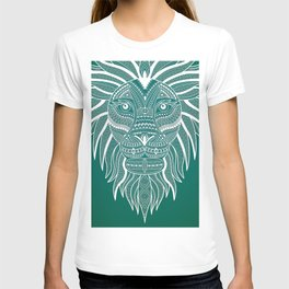 Lion Bee Manuality Green T-shirt