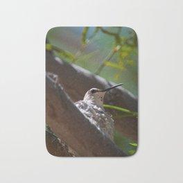 Hummingbird Momma Bath Mat