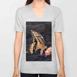 Swallowtail Overexposed Unisex V-Neck