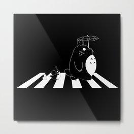 Ghibli Road Metal Print