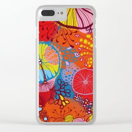 Under the sea, what do you see? Clear iPhone Case