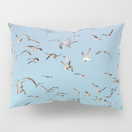 Brooklyn working gulls Pillow Sham