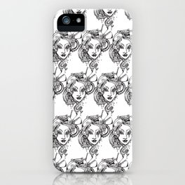 Francais- Request on her death bed iPhone Case