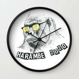 Harambe 202 Wall Clock