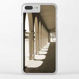 Shadows and Arches Clear iPhone Case