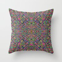persian Throw Pillows featuring Persian by Glanoramay