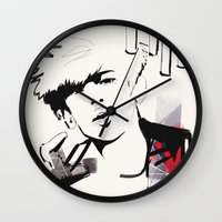exo Wall Clocks featuring Love Me Right - Chanyeol by emametlo