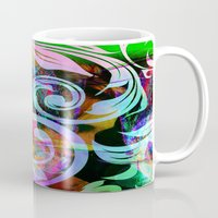 romance Mugs featuring Romance by shiva camille