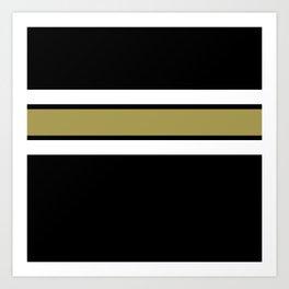 TEAM COLORS 2....Gold Art Print