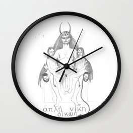 Demon Mother Wall Clock