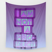 nope Wall Tapestries featuring nope 0 by gasponce