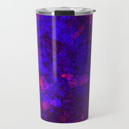Dark Neon Grunge Travel Mug