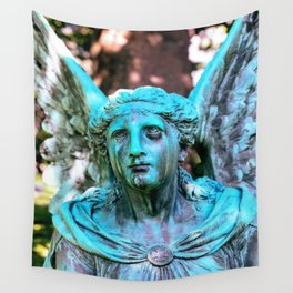 Weeping Angel Wall Tapestry