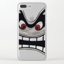 Ungry Face Clear iPhone Case