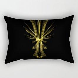 Yellow Amygdala Rectangular Pillow