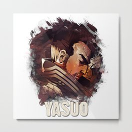 League of Legends YASUO Metal Print
