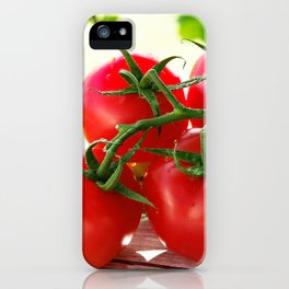 Fresh Tomatos iPhone Case
