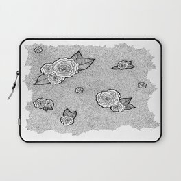 Dotted Floral Laptop Sleeve