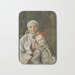ANDERS ZORN,  Mona och Karin  1885 Bath Mat