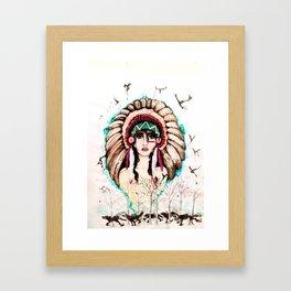 Native Soul Framed Art Print