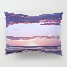 Coastal Sunset Sainte-Anne-Des-Monts Pillow Sham