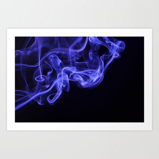 i don't smoke Art Print