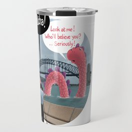 The secret of Nessie Travel Mug