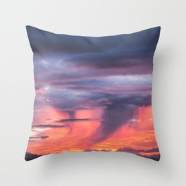 Coromandel Sunset Throw Pillow