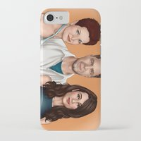allison argent iPhone & iPod Cases featuring Argent Family Photo - San Francisco, 2010 by xKxDx