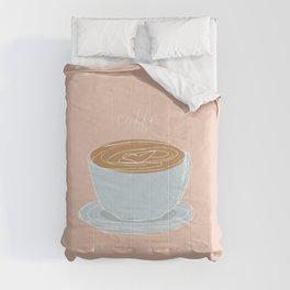 Italian coffee sketch Comforters