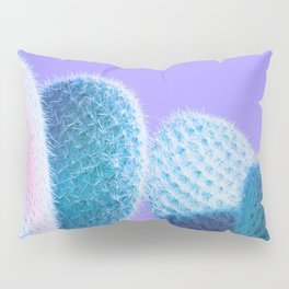 Cactus Love - Ultra Violet and Aqua blue #love #homedecor Pillow Sham